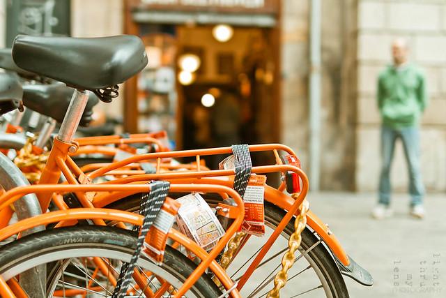 Let's take a (orange) ride :)