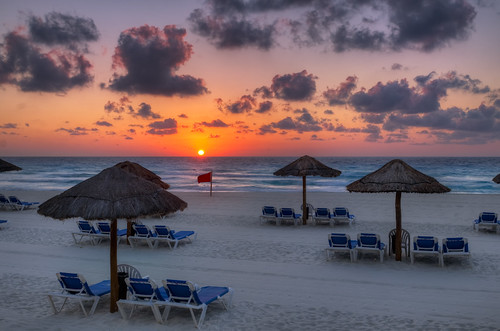 Another Cancun Sunrise