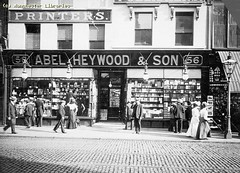 Abel Heywood & Son Bookshop, 1910