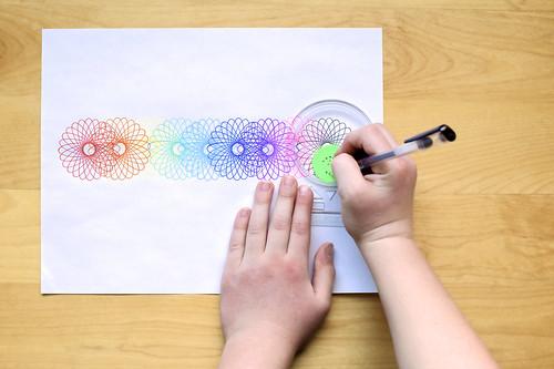 Rainbow roulette.