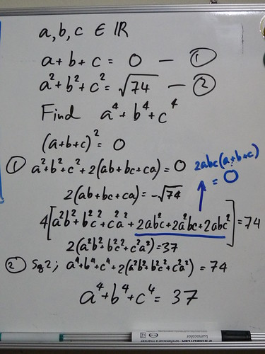 Solution of Grade 9th Math problem