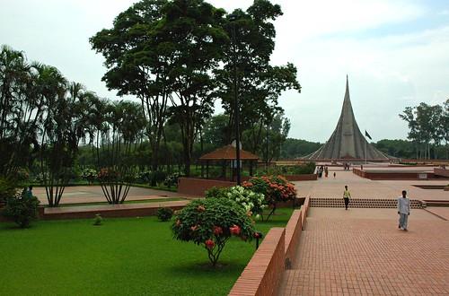 The Memorial, জাতীয় স্মৃতি সৌধ Jatiyo Smriti Soudho Independence memorial park, Savar, Dhania, Dhaka, Bangladesh by Wonderlane