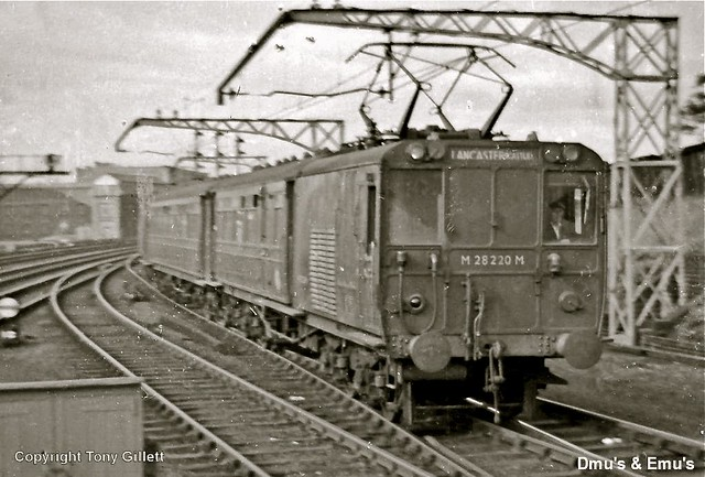 Morecambe  - Lancaster Electric Train : By Tony Gillett :
