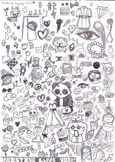 Random drawings flickr photo sharing for Small art drawings