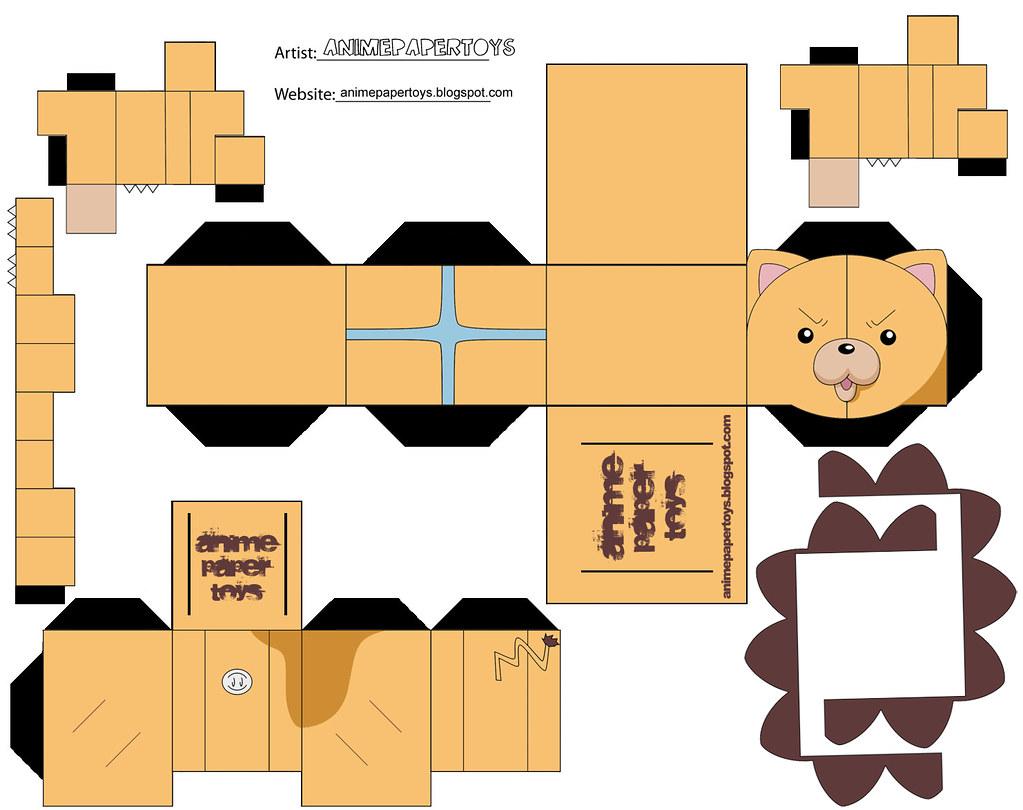 Mu ecos armables de anime taringa - Papel para dibujar ...