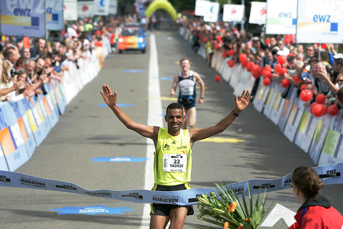 Zürich Marathon 09 - Auf der Strecke