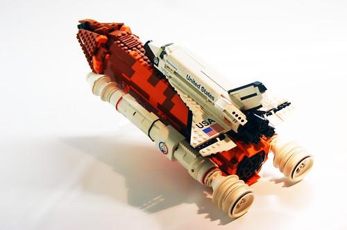 space shuttle lego moc - photo #7