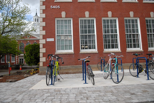 Bike parking at Franklin High School-2