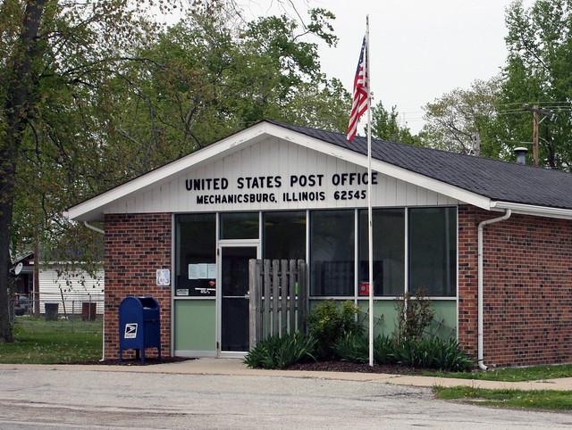 Mechanicsburg Il United States Post Office Zip Code