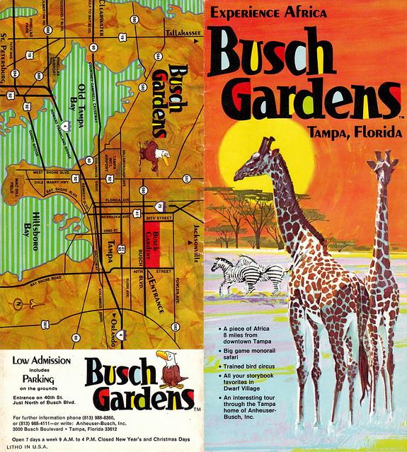 Retro Busch Gardens Flickr Photo Sharing
