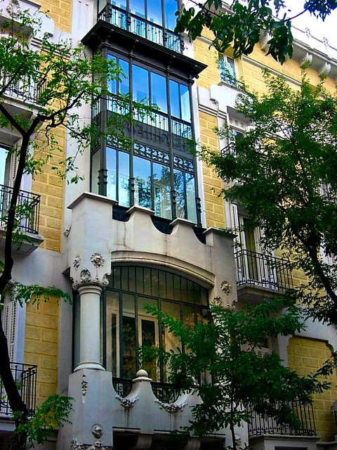 calle lagasca de madrid: