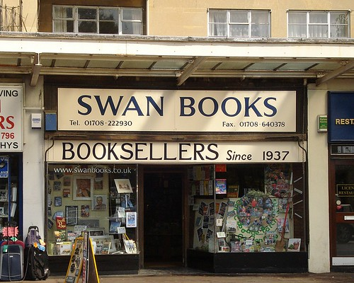 Swan Books, Upminster, London RM14