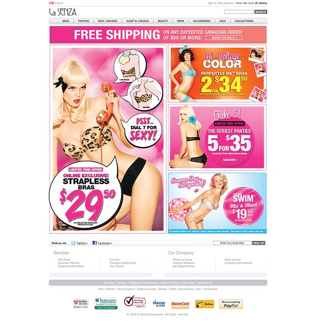 "Whether you belong in the first or the second group of customers, we have tips for La Senza online stores for you. You just need to write ""La Senza online store"" or ""La Senza online shop"" in the search field and click on ""Search online stores"". Subsequently you will see results of the La Senza online ."