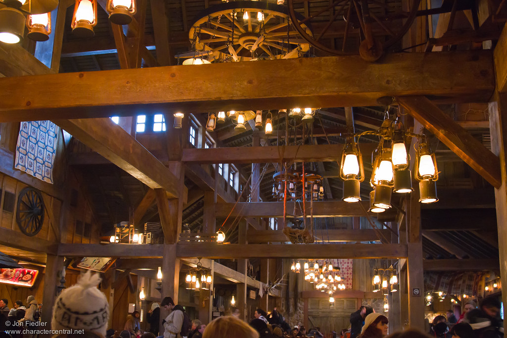 Cowboy Cookout Barbecue Ceiling Disneyland Paris
