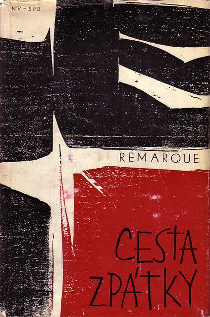 Czechoslovak dust jacket (1966)