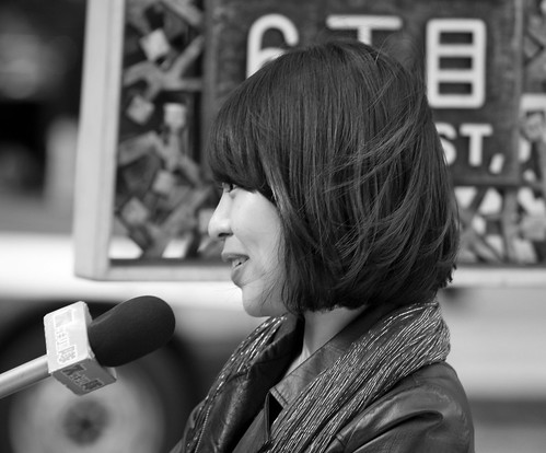 Interviewed in Ginza - (Day 20 Holiday 2011)