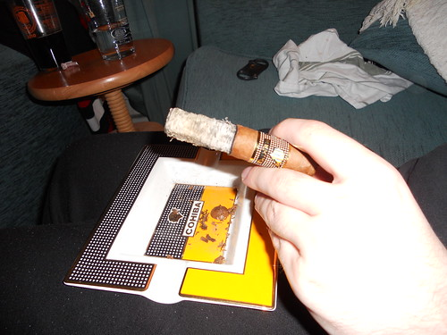 Long Ashes! Cohiba Behike 52