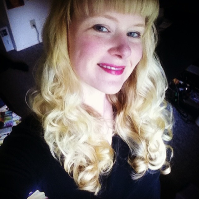 Two perms + sleeping with soft rollers = the curls of my dreeeeams!