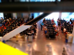 Tilt Shift Seattle Downtown Library
