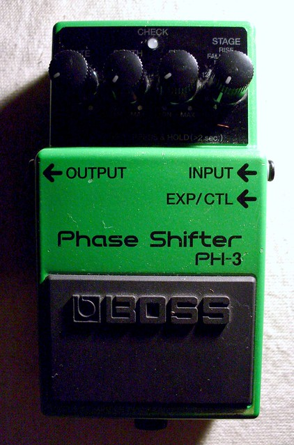 Photo:Boss PH-3 Phase Shifter By Roadside Guitars