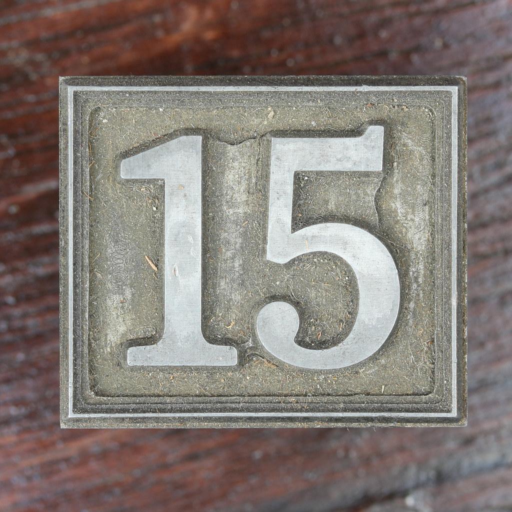 Calendar Number 15
