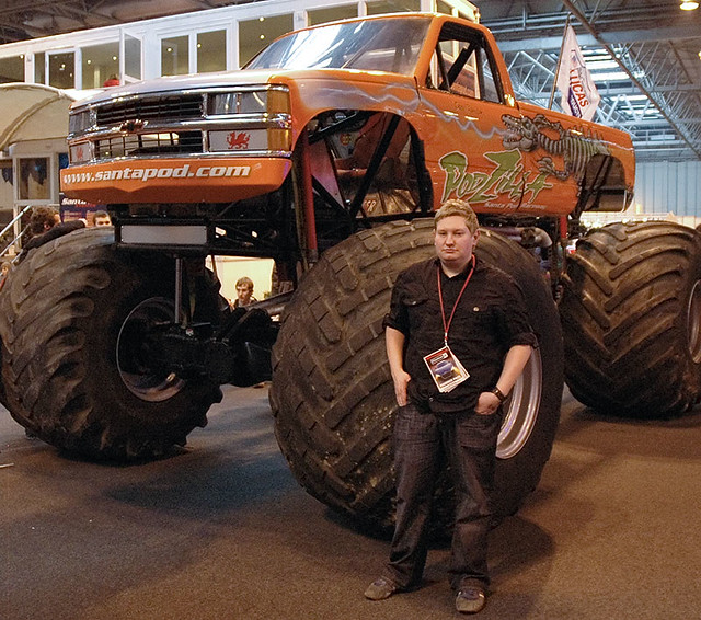 Chevrolet Monster Truck | Myself with this beast at the ...