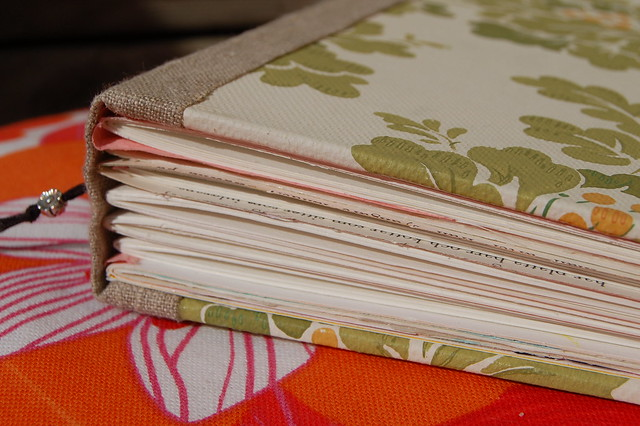 The promising Emptiness and Bliss of a Hand Bound Art Journal