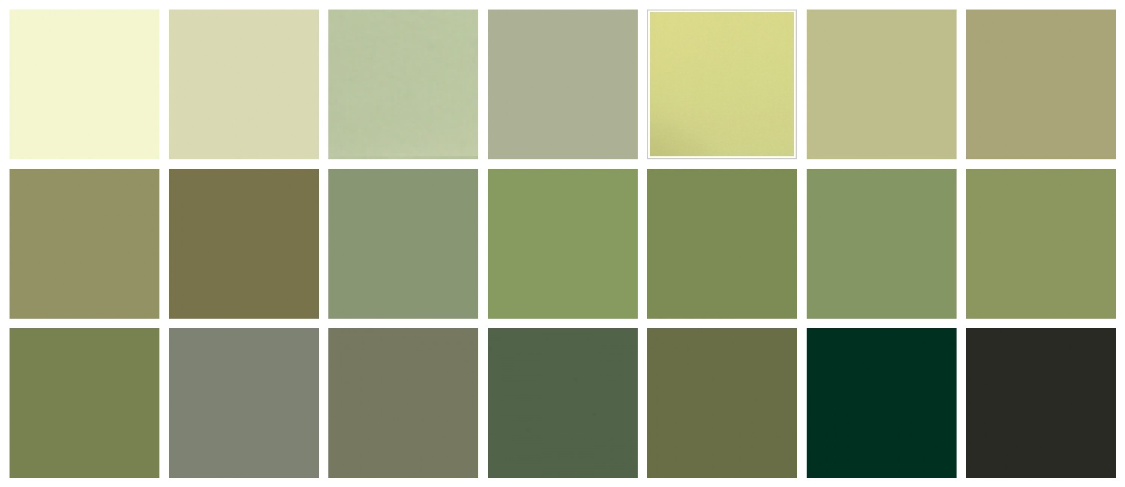 Saxon Green Paint