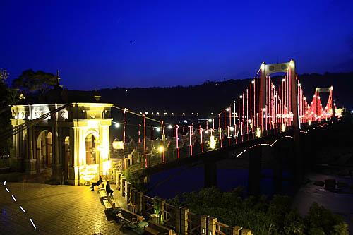 703K大溪橋夜景