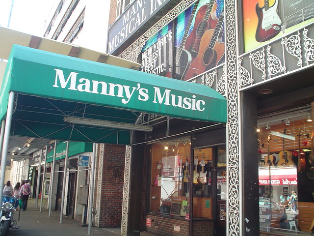 manny 39 s music on 48th st nyc flickr photo sharing. Black Bedroom Furniture Sets. Home Design Ideas