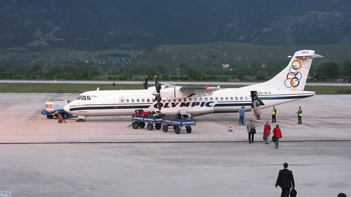 "Olympic Airways, ATR 72, ""Homer"" (""Όμηρος"")"