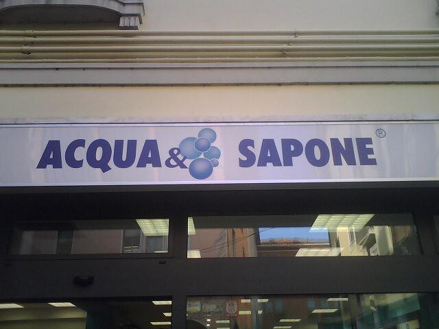 Header of Acqua e sapone