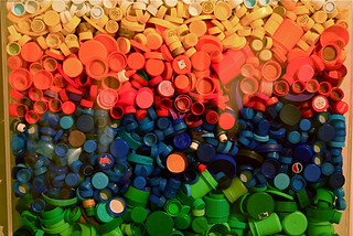 Bottle Caps -- Material Afterlife UICA 4-11-09 13