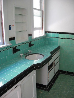 24 Wonderful Bathroom Tiles Art Deco