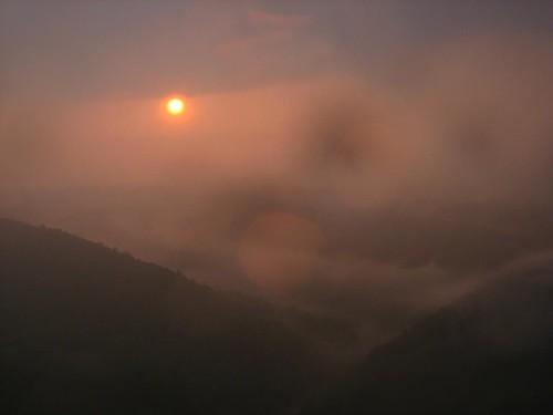 sunset rain hike pa duncannon ericbeyeler hawkrock