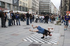 Vienna - street dancer