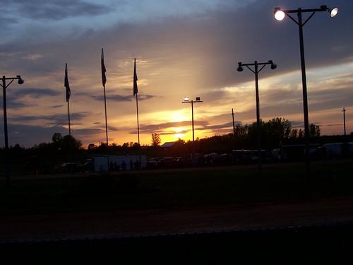 HI-Go Raceway (5.23.09) - Sunset