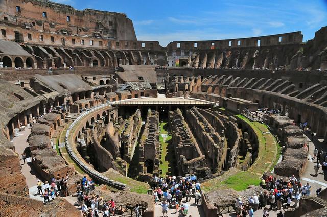 Rome - Roman Colosseum Inside