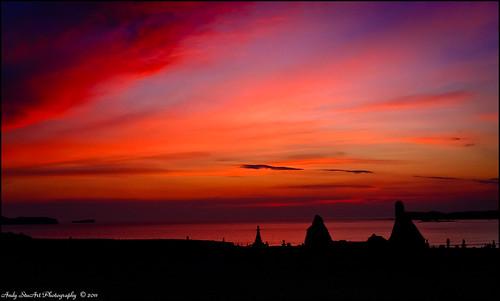 ocean sunset red sea cloud scotland ruin best sutherland atlanticocean durness kirk bestphoto contestwinner digitalcameraclub balnakiel contestwinners scrumsrus andystuart durnessflickrmeet balnakielkirk pregamewinner