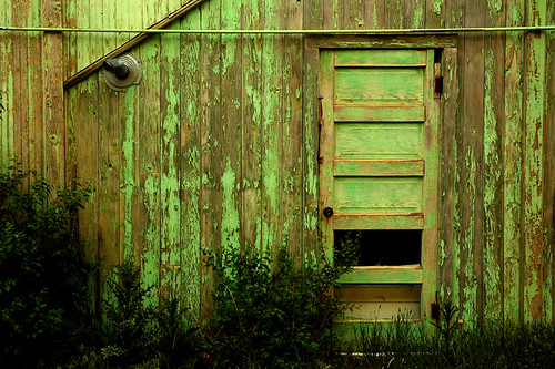 Behind the Green (Faded) Door
