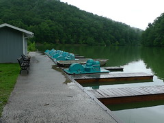 Steele Creek Park Lake rides