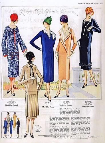 August 1925 Fashion