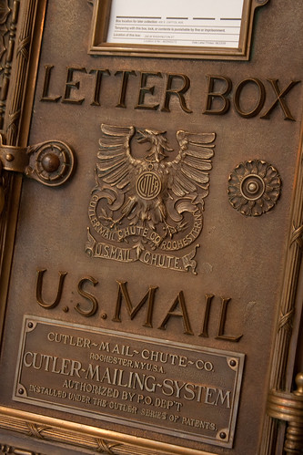 U.S. Mail Letter Box