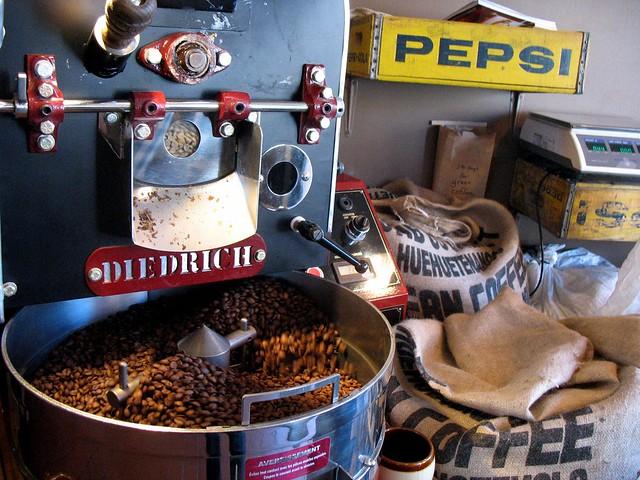 Coffee Roasting at Ipsento Coffee Shop in Bucktown