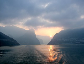 Yangtze River Sunset