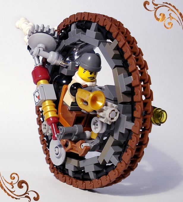 Steamonowheel view one