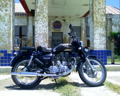 Royal Enfield and Humble Oil