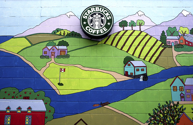 Do Lipton employees take coffee breaks?
