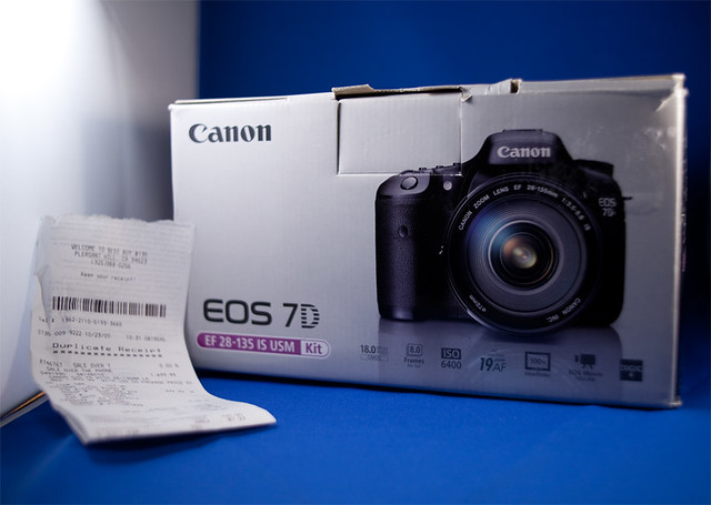 Sale Pending! Canon 7D kit for sale $1750 with insurance protection plan SOLD!