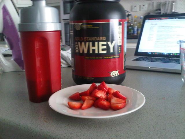 On Optimum Nutrition  Soy Protein Lb Dutch Chocolate